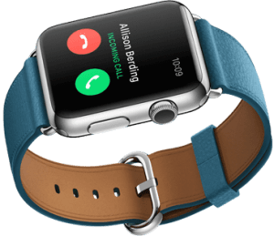 Business Calls on Apple Watch