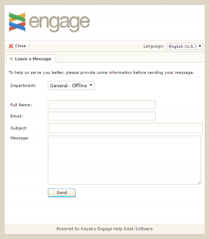 Axvoice Live Chat Support