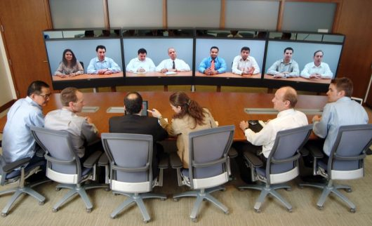 Business Conferencing via VoIP