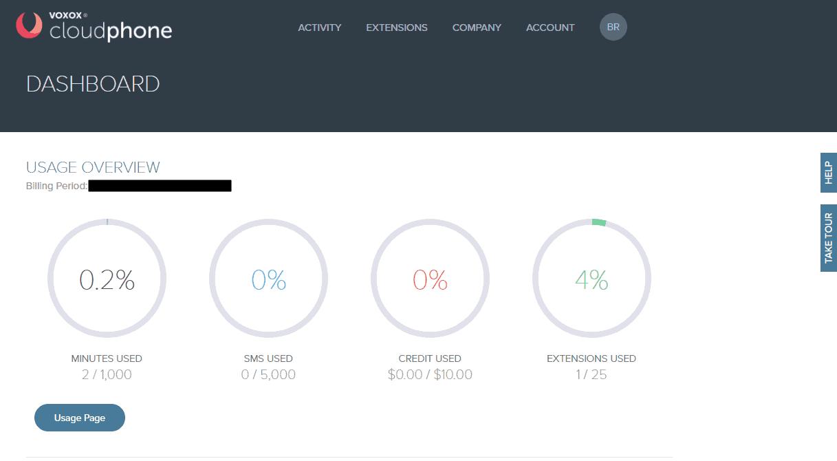 Admin Dashboard in Cloud Phone