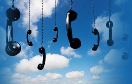 VoIP phones in the cloud