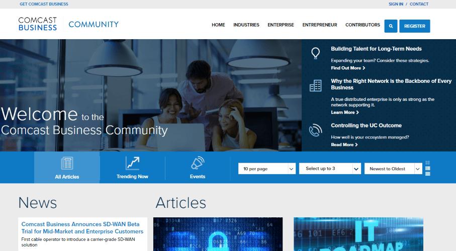The Blog of Comcast Business