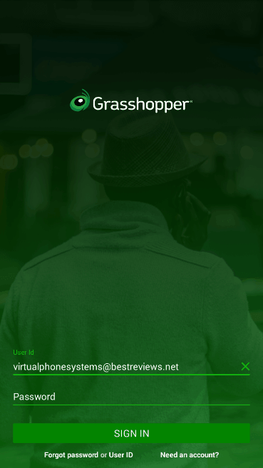 Home Screen of the New Grasshopper App