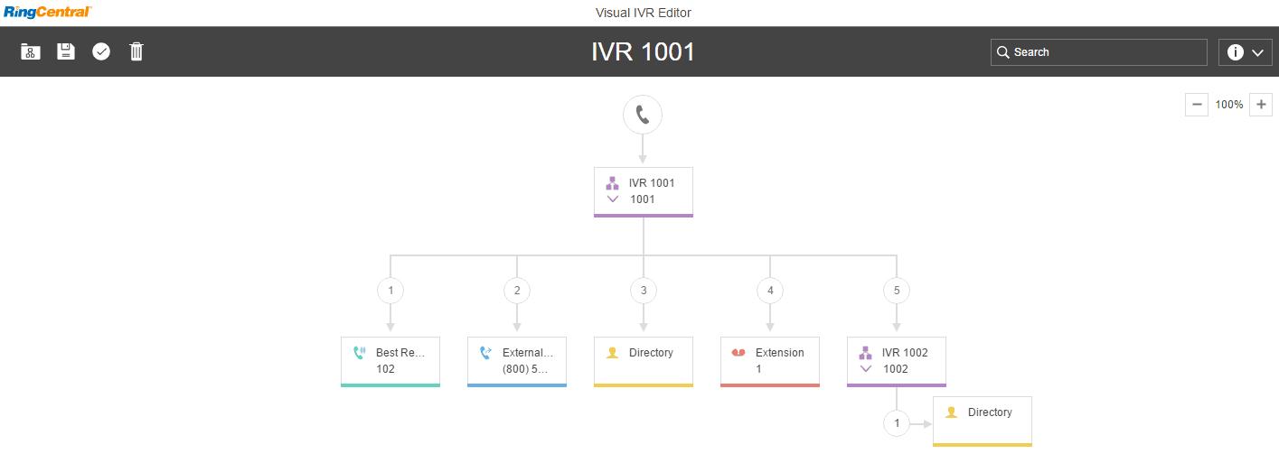 Visual Answering Rule Creator