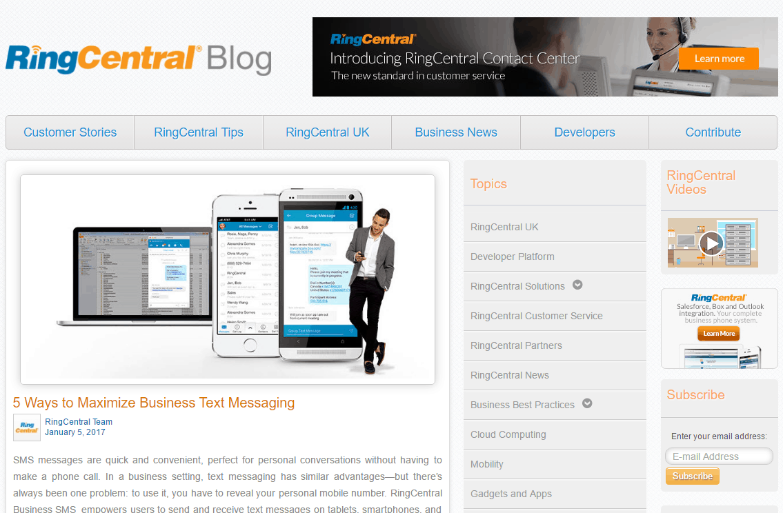 RingCentral's Blog