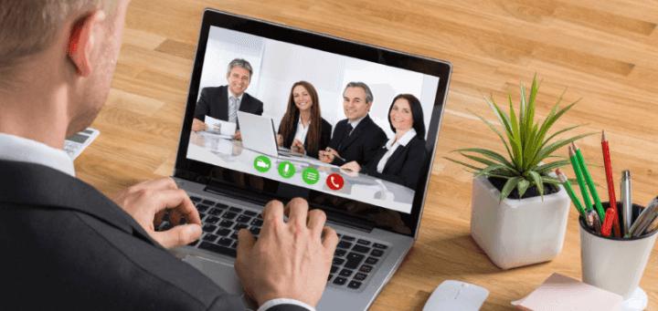 Video Call Via Skype