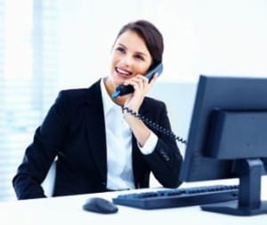 Making business calls with a VoIP phone