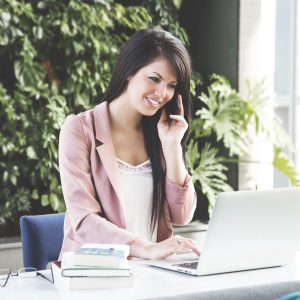 Business calls with a virtual phone system