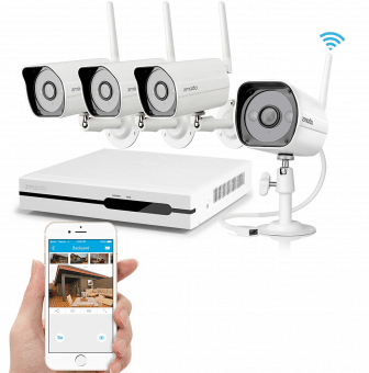 Wireless Home Security System with VoIP