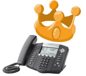 VoIP phone is sales king
