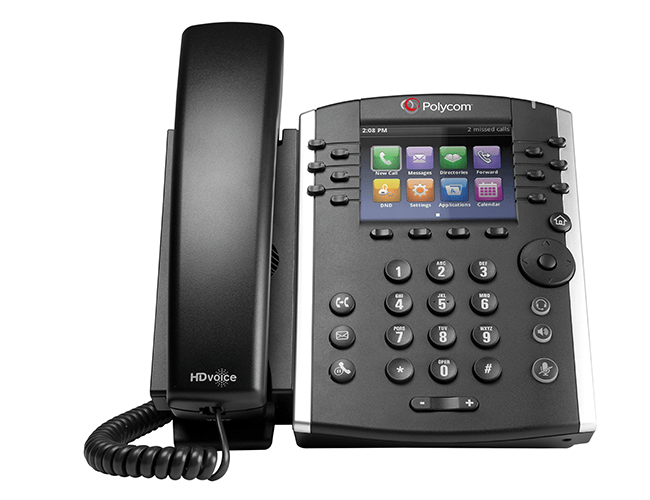 IP Desk Phone Polycom VVX 400