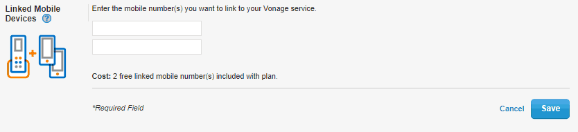 Adding Mobiles to Vonage Home Extensions