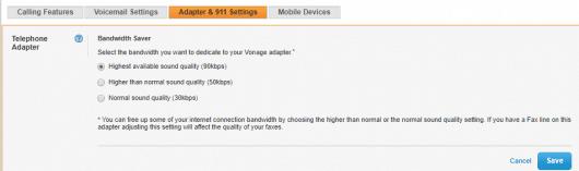 The Bandwidth Saver